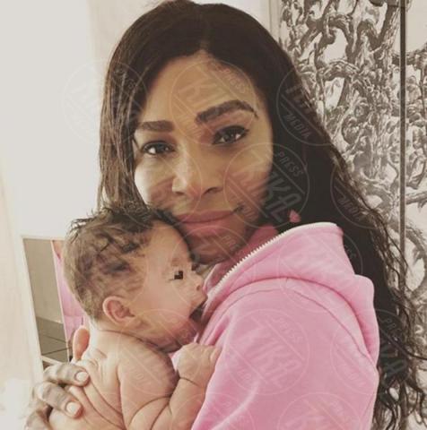Alexis Olympia Ohanian Jr., Serena Williams - Los Angeles - 17-11-2017 - Serena Williams: la confessione choc sul parto