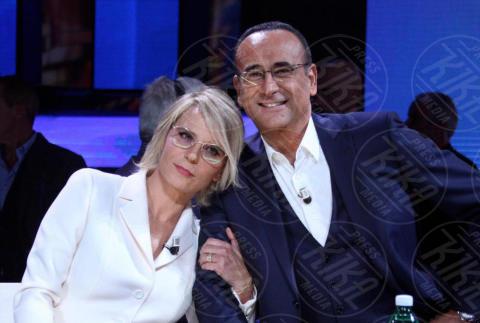 Maria De Filippi, Carlo Conti - Roma - 17-11-2017 - Torneo Tale e Quale Show, prima puntata: ha vinto lei! Ma chi è?