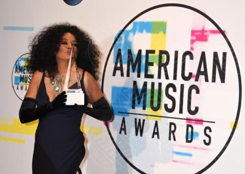 Diana Ross - Los Angeles - 19-11-2017 - AMA 2017, guarda tutti i vincitori di quest'anno