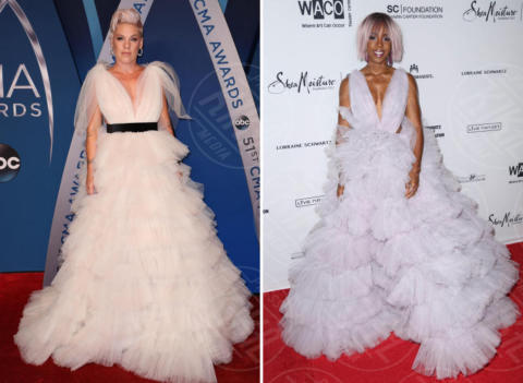 Kelly Rowland, Pink - 20-11-2017 - Chi lo indossa meglio? Nuvole di tulle e balze per Pink e Kesha