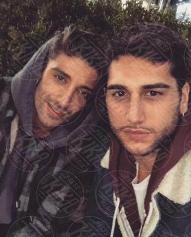 Jeremias Rodriguez, Andrea Iannone - Milano - 22-11-2017 - La trasformazione di Andrea Iannone in... Fabrizio Corona!