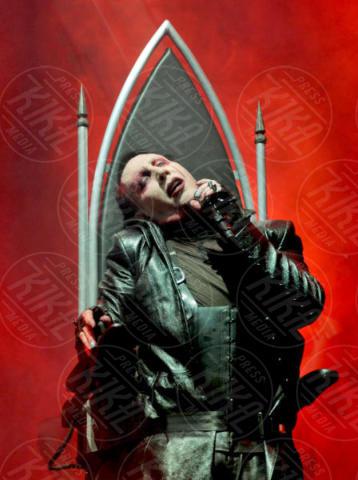 Marilyn Manson - Torino - 22-11-2017 - Il selfie di Morandi con Marilyn Manson: altro che esorcisti!