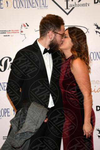 Giuliana fidanzata, Enrico Maria Pacini - Napoli - 25-11-2017 - Miss Europe Continental 2017: il red carpet di Sara Miquel