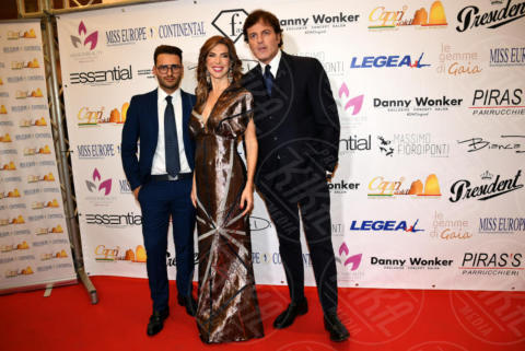 Veronica Maya, Marco Senise - Napoli - 25-11-2017 - Miss Europe Continental 2017: il red carpet di Sara Miquel