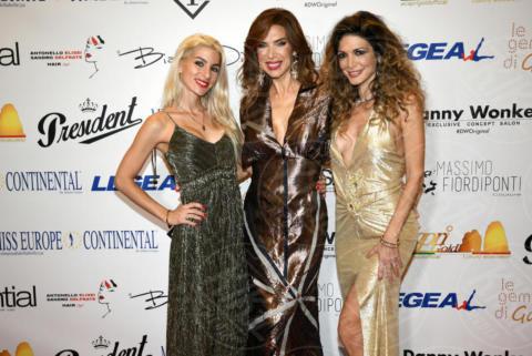 Sara Miquel, Veronica Maya, Maria Monsè - Napoli - 25-11-2017 - Miss Europe Continental 2017: il red carpet di Sara Miquel