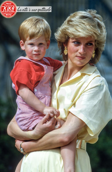 Lady Diana, Principe Harry - Londra - Harry: