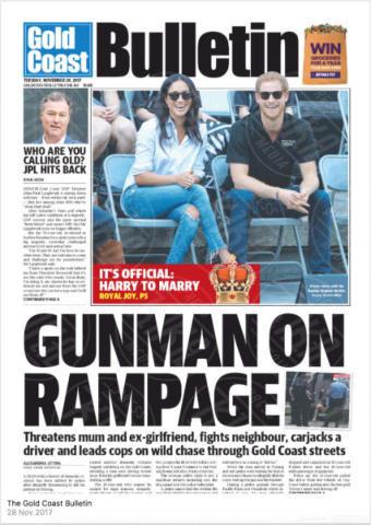 Bulletin, Australia - 28-11-2017 - Harry e Meghan Markle: a maggio si sposeranno qui
