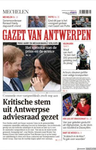 Mechelen, Belgium - 28-11-2017 - Harry e Meghan Markle: a maggio si sposeranno qui