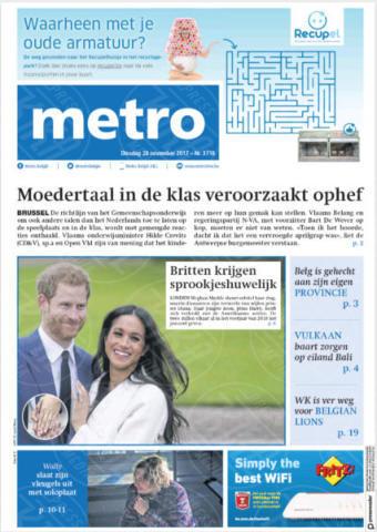 Belgium, Metro - 28-11-2017 - Harry e Meghan Markle: a maggio si sposeranno qui
