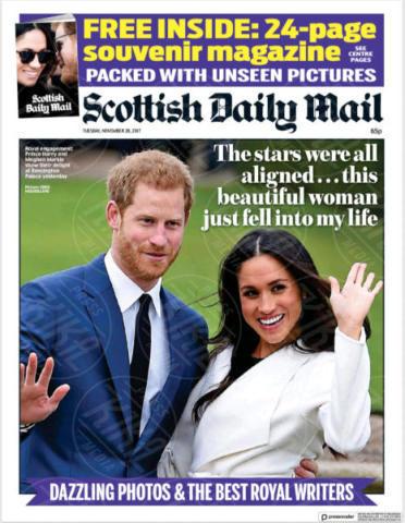 Scottish Daily Mail, Scotland, United Kingdom - 28-11-2017 - Harry e Meghan Markle: a maggio si sposeranno qui