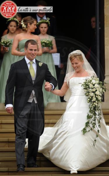 Autumn Phillips, Peter Phillips - Windsor - 17-05-2008 - Da Kate a Lady D, gli abiti da sposa Windsor più belli