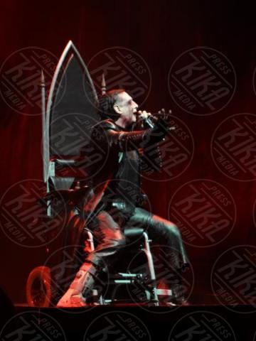 Marilyn Manson - 27-11-2017 - Il selfie di Morandi con Marilyn Manson: altro che esorcisti!