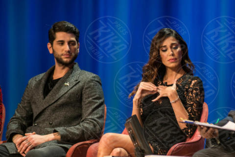 Jeremias Rodriguez, Belen Rodriguez - Roma - 29-11-2017 - I Rodriguez si prendono il Maurizio Costanzo Show