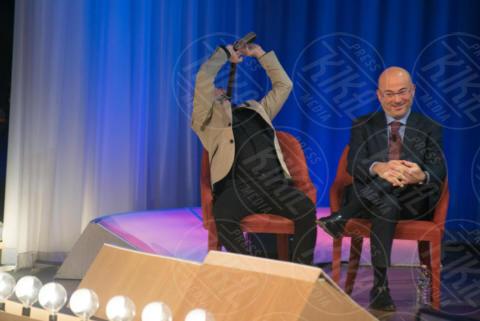 Aldo Cazzullo, Antonio Giuliani - Roma - 29-11-2017 - I Rodriguez si prendono il Maurizio Costanzo Show