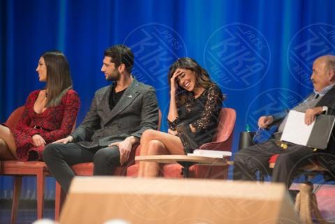 Jeremias Rodriguez, Maurizio Costanzo, Cecilia Rodriguez, Belen Rodriguez - Roma - 29-11-2017 - I Rodriguez si prendono il Maurizio Costanzo Show
