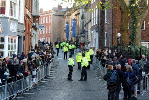 Police, Atmosphere - Nottingham - 01-12-2017 - Harry e Meghan, la prima uscita è mano nella mano