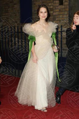 Keira Knightley - Londra - 03-12-2017 - Keira Knightley, nuvola di tulle che incorona Andrew Garfield