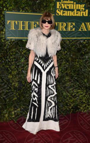 Anna Wintour - Londra - 03-12-2017 - Keira Knightley, nuvola di tulle che incorona Andrew Garfield