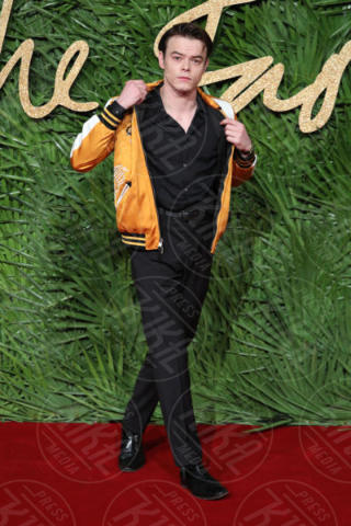 Charlie Heaton - Londra - 04-12-2017 - Selena Gomez & Co.: ai Fashion Awards trionfano bellezza e stile