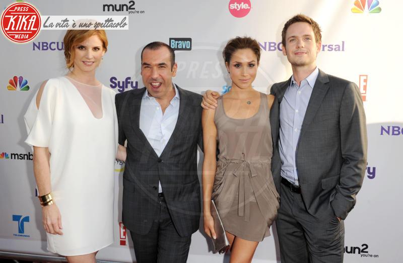 Sarah Rafferty, Meghan Markle, Patrick J. Adams, Rick Hoffman - Los Angeles - 01-08-2011 - Vedremo ancora Meghan Markle in tv come attrice