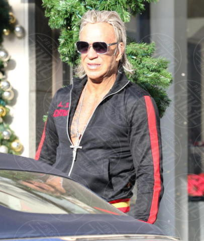 Mickey Rourke - Beverly Hills - 04-12-2017 - Mickey Rourke: un romanista a Hollywood