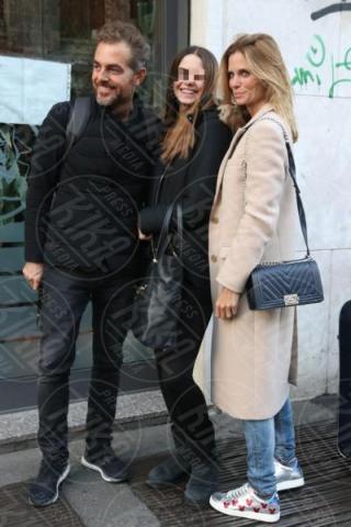 Stella Bossari, Daniele Bossari, Filippa Lagerback - Milano - 05-12-2017 - GF Vip, Daniele Bossari: che bel quadretto di famiglia