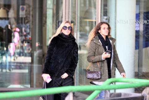 Giorgia Marin - Milano - 30-11-2017 - Giorgia Marin, anche lo shopping vuole il suo dress code
