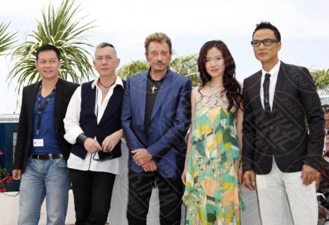 Michelle Ye, Siu-Fai Cheung, Johnny Hallyday, Simon Yam - Cannes - 17-05-2009 - Addio Johnny Hallyday, la star di Que Je T'aime muore a 74 anni