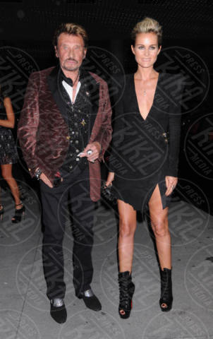 Laeticia Hallyday, Johnny Hallyday - Hollywood - 25-09-2010 - Addio Johnny Hallyday, la star di Que Je T'aime muore a 74 anni