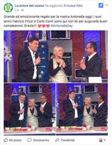 Fabrizio Frizzi, Carlo Conti, Antonella Clerici - Roma - 06-12-2017 - Fabrizio Frizzi: la notizia che tutti aspettavano