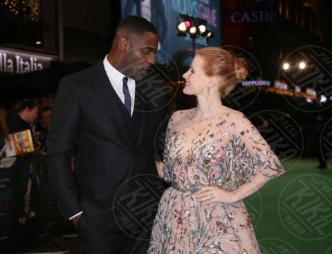 Jessica Chastain, Idris Elba - Londra - 06-12-2017 - Jessica Chastain e Idris Elba si danno al poker clandestino
