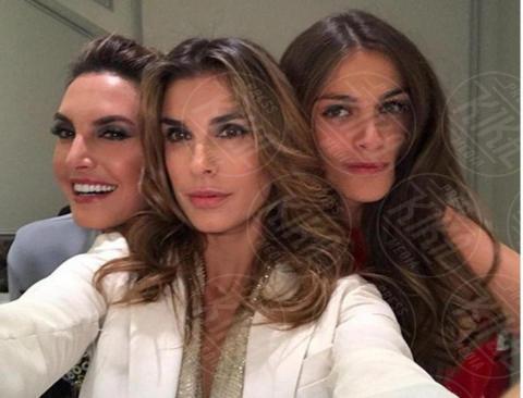 Elisa Sednaoui, Elisabetta Canalis - 07-12-2017 - Elisabetta Canalis, selfie con Kim Kardashian