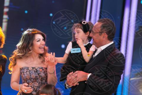 Cristina D'Avena, Carlo Conti - Bologna - 09-12-2017 - Zecchino d'Oro 2017: vince Una parola magica
