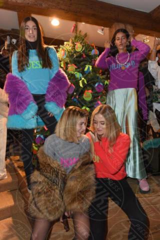 Valentina Ferragni, Chiara Capitani, Gilda Ambrosio, Giorgia Gabriele - Cortina - 09-12-2017 - Festa Alberta Ferretti, sulla neve c'è... Gianluca Vacchi!