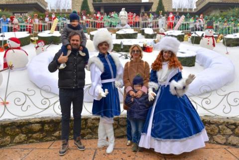 Cesare Cracco, Pietro Cracco, Rosa Fanti, Carlo Cracco - Castelnuovo del Garda - 08-12-2017 - Carlo Cracco e Rosa Fanti si sposano. Ecco quando