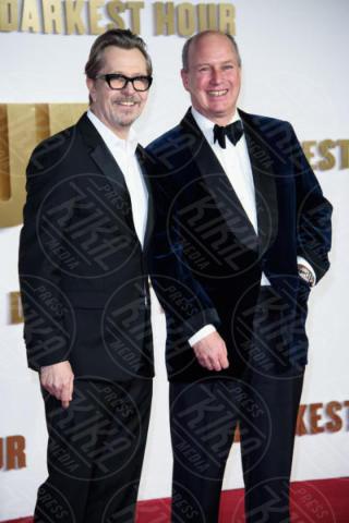 Randolph Spencer-Churchill, Gary Oldman - Londra - 11-12-2017 - Gary Oldman presenta L'ora più Buia: vincerà il Golden Globe?