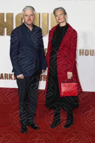 Eva Maywald, Anthony McCarten - Londra - 11-12-2017 - Gary Oldman presenta L'ora più Buia: vincerà il Golden Globe?