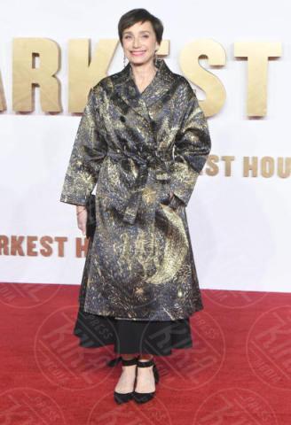 Kristin Scott Thomas - Londra - 11-12-2017 - Gary Oldman presenta L'ora più Buia: vincerà il Golden Globe?