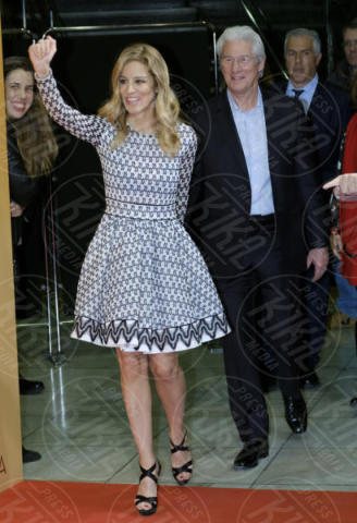 Alejandra Silva, Richard Gere - Madrid - 11-12-2017 - Richard Gere di nuovo padre a 69 anni! La moglie è incinta