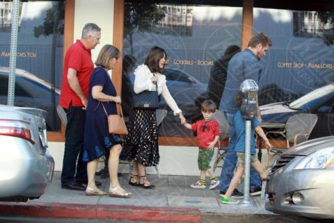 Emerson Stone, Hudson Stone, Curtis Stone, Lindsay Price - Los Angeles - 06-12-2017 - Vi ricordate di Lindsay Price in BH 90210? Eccola adesso