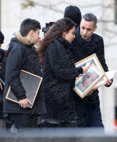 family members - Londra - 14-12-2017 - Kate, William e Harry ricordano le vittime della Grenfell Tower