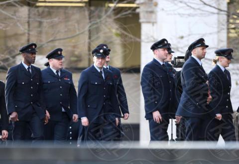 Fire service - Londra - 14-12-2017 - Kate, William e Harry ricordano le vittime della Grenfell Tower