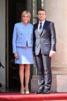 Brigitte Macron, Emmanuel Macron, Brigitte Trogneux - Parigi - 14-05-2017 - 2017: le donne che hanno lasciato il segno