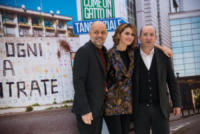 Riccardo Milani, Paola Cortellesi, Antonio Albanese - Roma - 22-12-2017 - Paola Cortellesi e Antonio Albanese di nuovo insieme al cinema