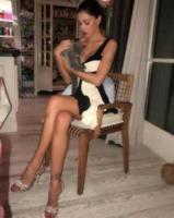Belen Rodriguez - Milano - 29-12-2017 - Belen, rispunta la farfallina e il web impazzisce