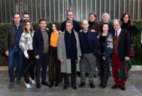 Cast al completo - Roma - 04-01-2018 - Valerio Mastandrea e Greta Scarano percorrono La linea verticale