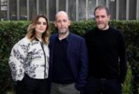 Greta Scarano, Mattia Torre, Valerio Mastandrea - Roma - 04-01-2018 - Valerio Mastandrea e Greta Scarano percorrono La linea verticale