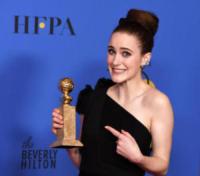 Rachel Brosnahan - Beverly Hills - 07-01-2018 - Golden Globe 2018: trionfa Tre Manifesti a Ebbing, Missouri