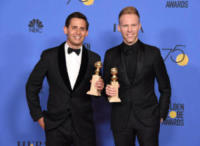 Benj Pasek, Justin Paul - Beverly Hills - 07-01-2018 - Golden Globe 2018: trionfa Tre Manifesti a Ebbing, Missouri