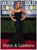 Mariah Carey - Beverly Hills - 08-01-2018 - Golden Globe 2018: gli stilisti sul red carpet